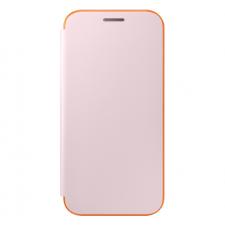 Samsung Galaxy A3 2017 Origineel Samsung Neon Flip Hoesje Rosé