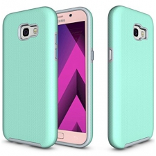 Samsung Galaxy A5 2017 Premium Bumper Hoesje Turquoise