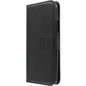 Samsung Galaxy J3 2017 Boek hoesje Echt leer Zwart