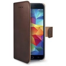Samsung Galaxy S5 Mini Echt Leer Hoesje Bruin