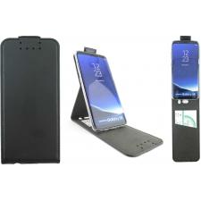 Samsung Galaxy S8 Premium Flip Hoesje Zwart ECHT LEER