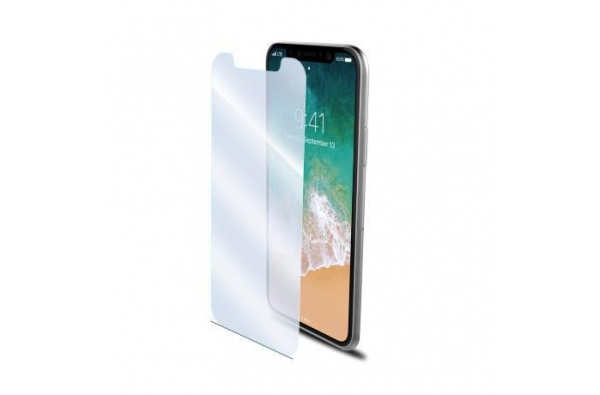 Celly Scherm Protector iPhone X