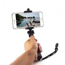 Selfie Stick met bluetooth / lichtgewicht / Slimme button / 80 cm / Uitschuifbaar / Alle toestellen