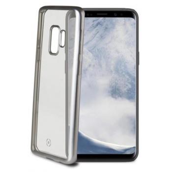 Samsung Galaxy S9 Plus transparante grijse lasermatt hoes