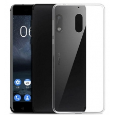 Doorzichtig Siliconen Hoesje Nokia 6
