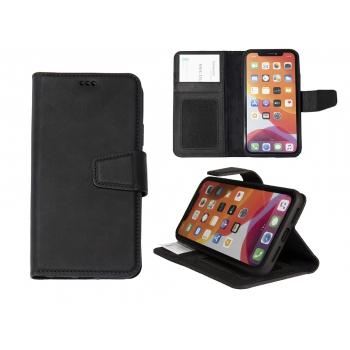 Hoesje iPhone 11 Boekmodel 2 in 1 Zwart