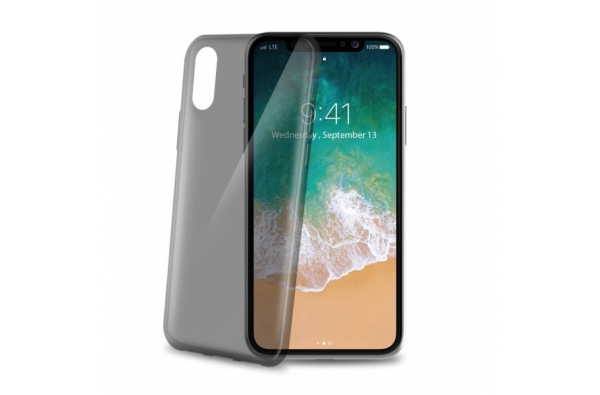 Celly Ultra Thin TPU Smoke for iPhone X
