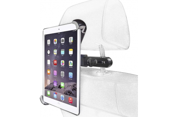 Stevige Universele iPad/Tablet houder auto (type 7 tot 12.1 inch) 360 graden draaibaar
