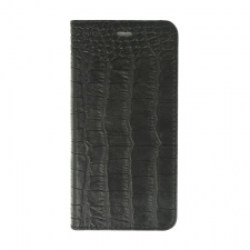 Valenta Booklet Classic Style Croco Black iPhone 6/6S