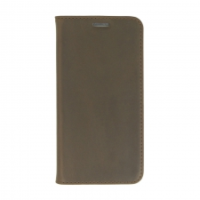 Valenta Booklet Classic Style Vintage Brown Galaxy S6