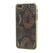 Valenta Click-On Animal Snake Brown iPhone 5/5S/SE