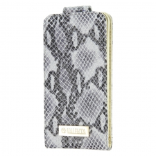 Valenta Flip Animal Snake Grey Galaxy S4