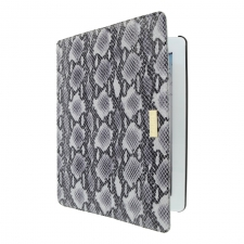 Valenta Tablet Flip Animal Snake Grey iPad 3/4