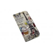 Samsung Galaxy S8 'Vintage Parijs' Print Eco-Leer Hoesje