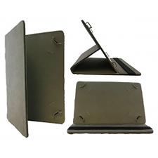 Universeel tablet leren bookcase 8-11 inch in grijs