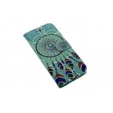 Samsung Galaxy S8 'Dromenvanger Turquoise' Print Eco-Leer Hoesje