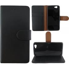 HTC A9s 100% Leer Premium Zwart Hoesje