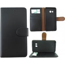 HTC U11 100% Leer Premium Zwart Hoesje
