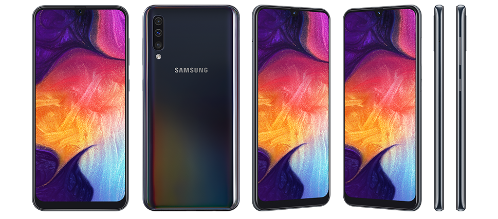 Black Colour - Samsung Galaxy A50