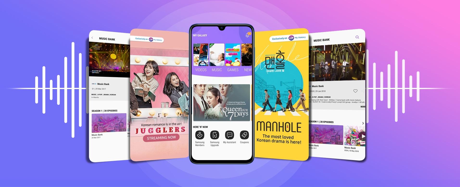 Galaxy A20 - My Galaxy App