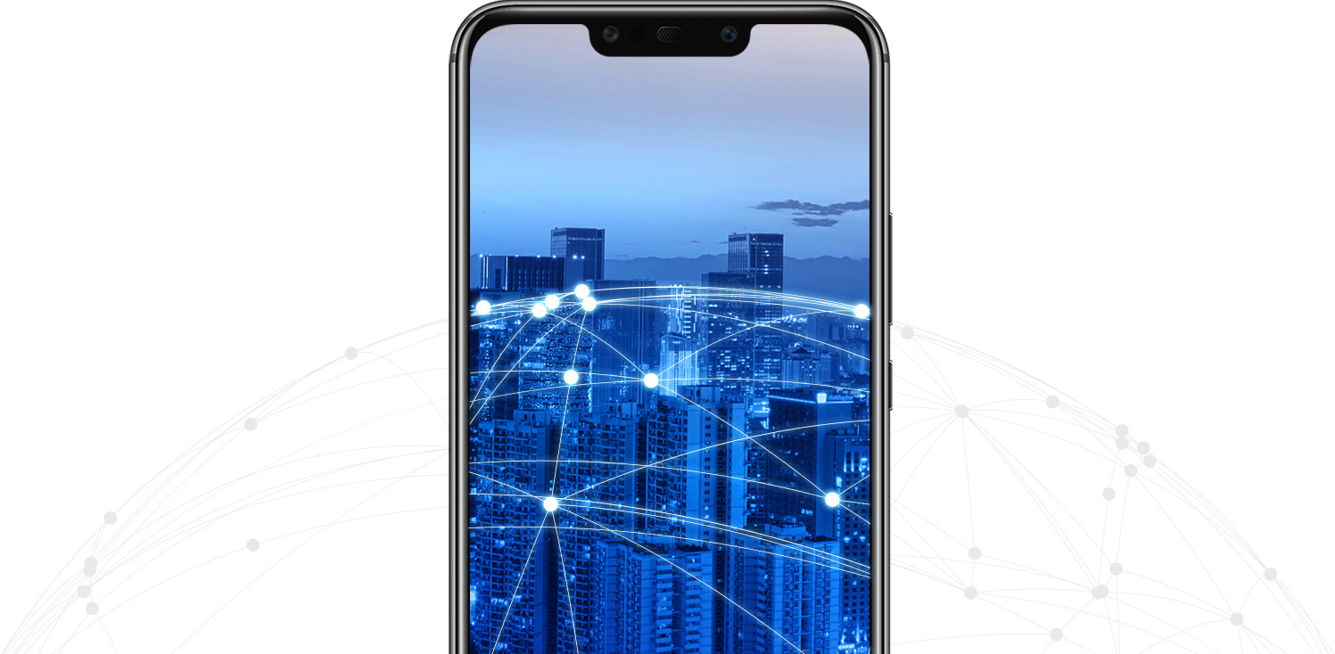 HUAWEI Mate 20 lite AI connectie