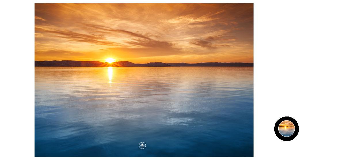 HUAWEI Mate 20 lite camera achter zonsondergang zonsopgang