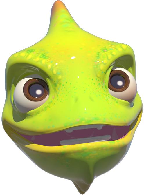 HUAWEI Mate 20 lite qmoji chameleon een