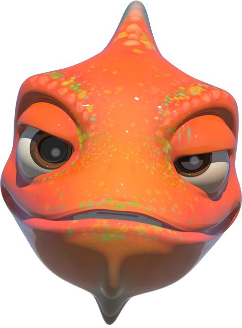 HUAWEI Mate 20 lite qmoji chameleon vier